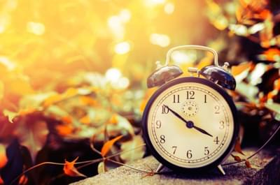 Don't forget to Set your Clock's Back this Weekend! Tips for Falling Back gracefully!