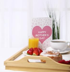 Make Mother's Day Special without having to leave your Home!