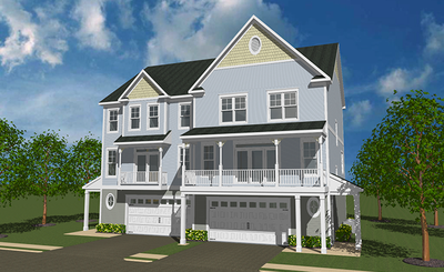 New Homes in Victoria Crossing - Reisterstown by Regional Homes of Maryland