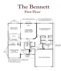 The Bennett Home with 3 Bedrooms