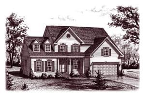 The Bennett New Home Floor Plan