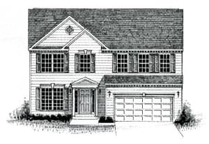 Elevation 2. 2,317sf New Home
