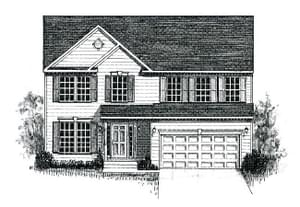 Elevation 3. 2,317sf New Home