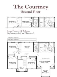 The Courtney New Home Floor Plan