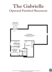 The Gabrielle New Home Floor Plan