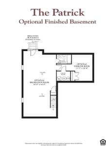 The Patrick New Home Floor Plan
