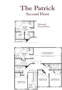 The Patrick New Home Floor Plan