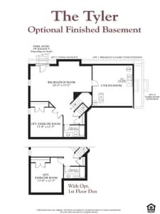The Tyler New Home Floor Plan