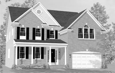 The Maxwell custom home floor plan by Regional Homes of Maryland