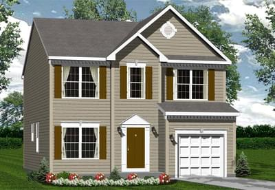 The Cedar custom home floor plan by Regional Homes of Maryland