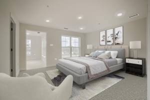 Master Bedroom. Victoria Crossing C Home with 3 Bedrooms
