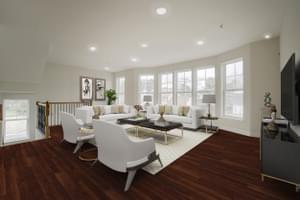 Living Room. Victoria Crossing C New Home Floor Plan