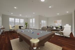 Recreation Room. Victoria Crossing C Home with 3 Bedrooms