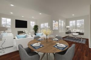 Entertainement Space. Victoria Crossing C New Home Floor Plan