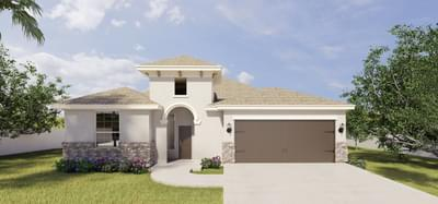 The Francisco new home in McAllen, TX