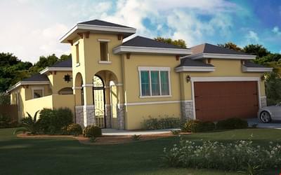 The Cenizo- Retama new home in Mission, TX