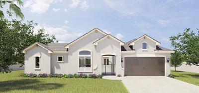 The Capistrano new home in McAllen, TX