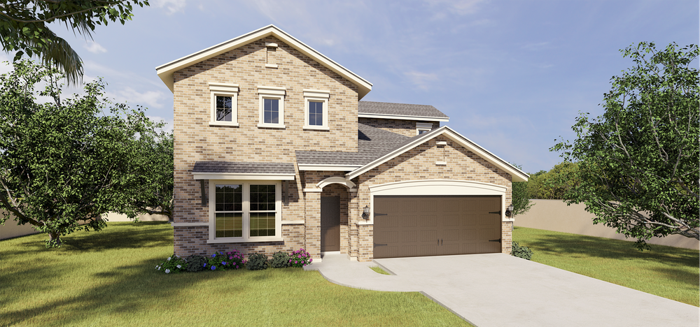 The Cantares new home in Mission, TX