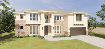 The Guadalupe new home in McAllen, TX
