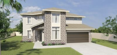 The San Saba new home in Mission, TX