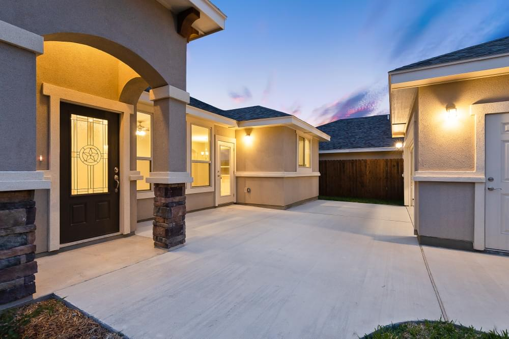 The Cenizo new home in Mission, TX