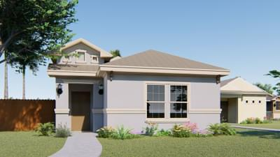 The Lantana new home in Mission, TX