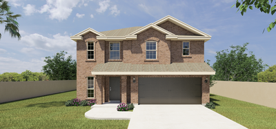 The Augustin new home in Edinburg, TX