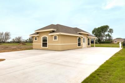 The RV Casita new home in Mission, TX