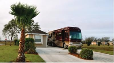 The RV Coach House new home in Mission, TX