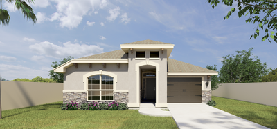 The Velasco new home in Mission, TX