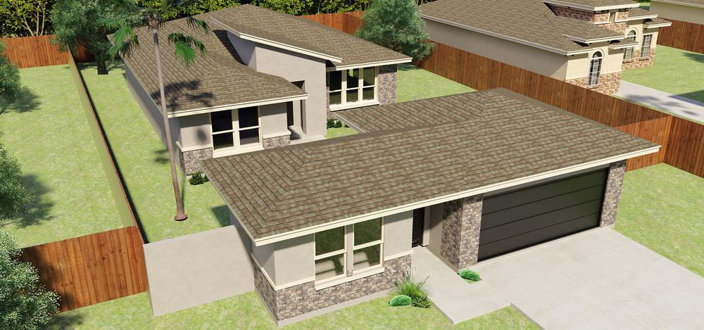 The Santa Cruz new home in Mission, TX