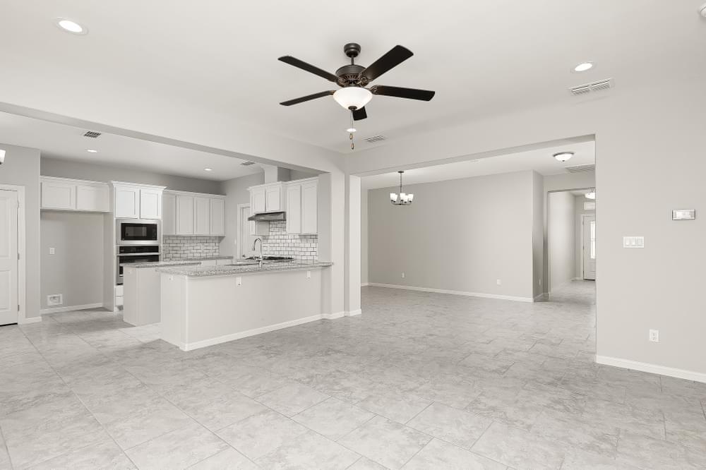 The Antonio new home in McAllen, TX