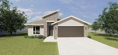 The Santiago new home in McAllen, TX