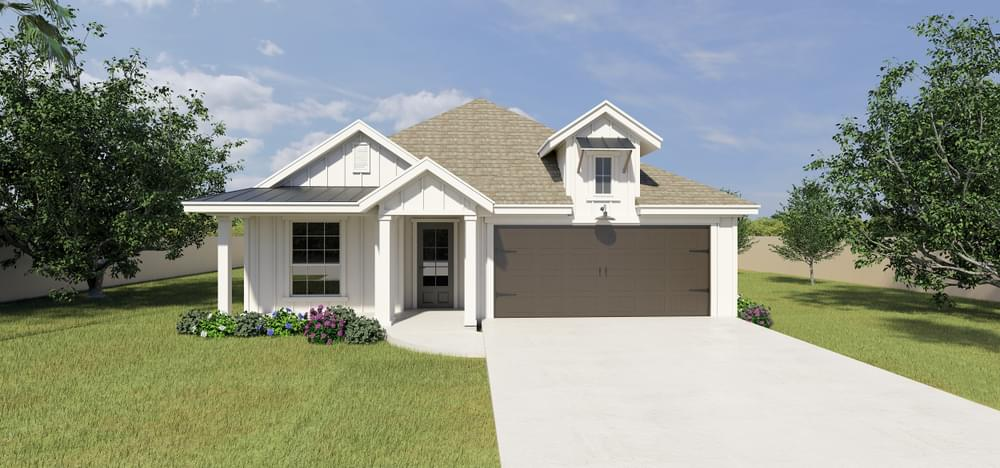 The Santiago new home in Mission, TX