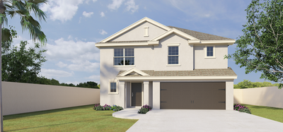 601 S Castillos y Diamantes St., Mission TX New Home for Sale