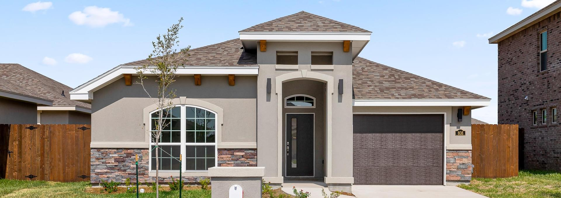Del Oro at Bentsen Palm New Homes in Mission, TX