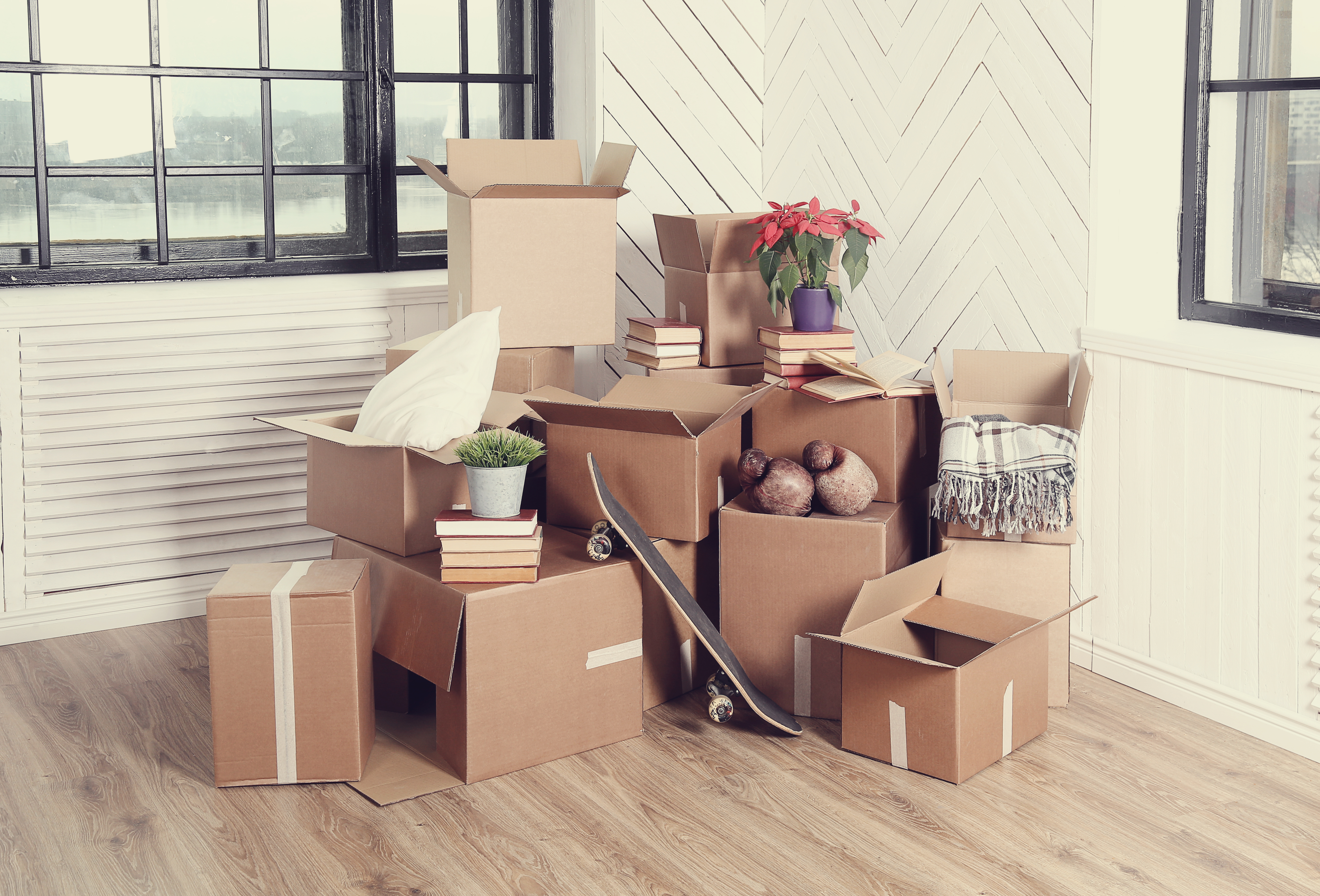 Keeping the Cost of Moving as Low as Possible