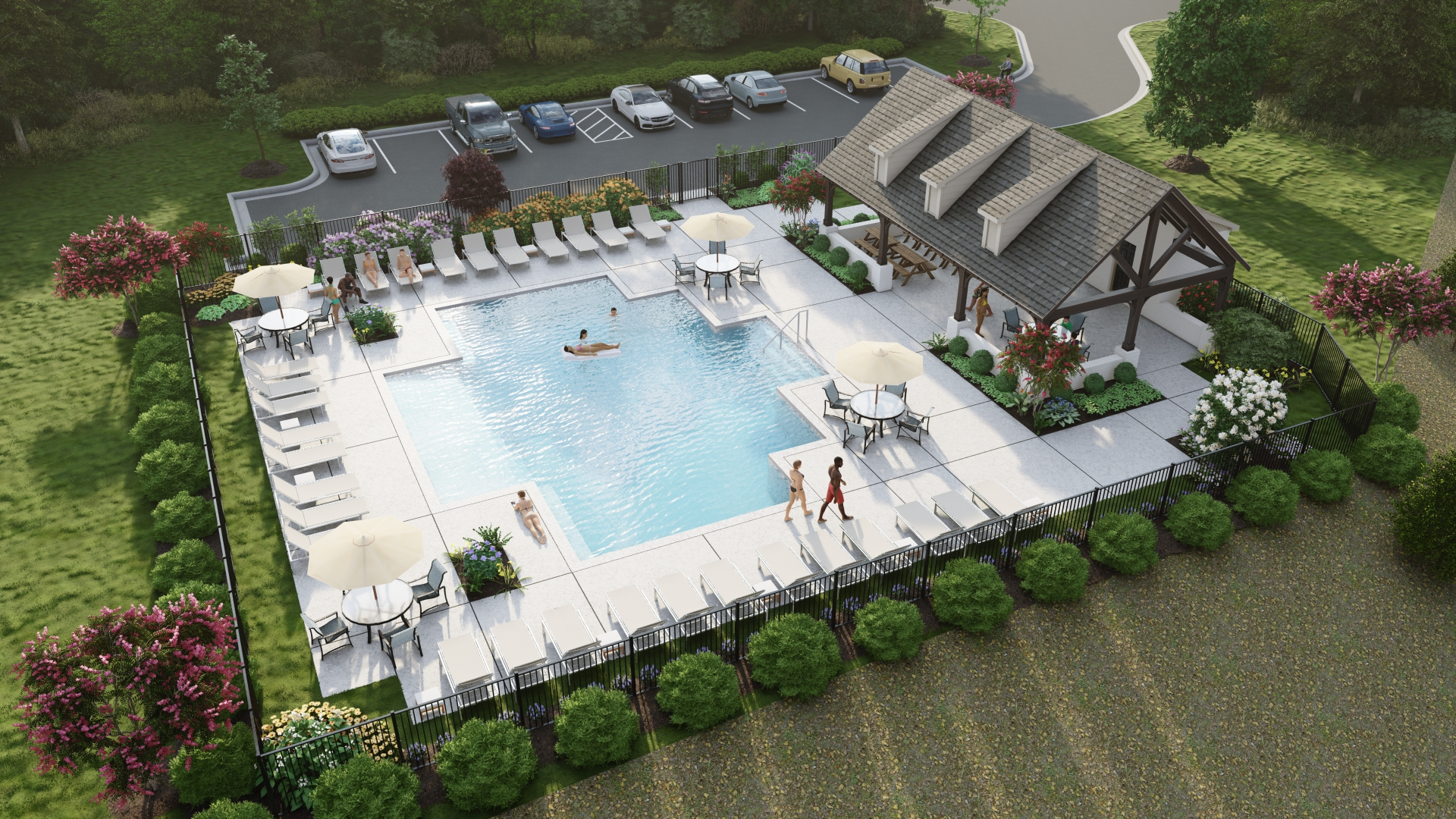 Community Features for Whitaker Landing
