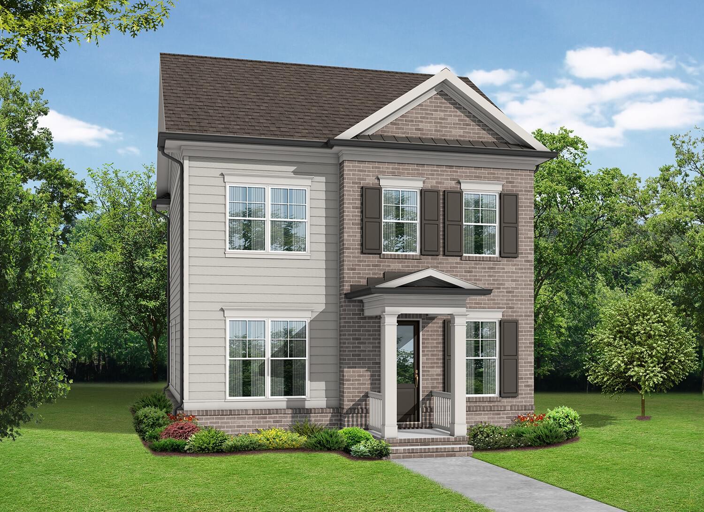 The Kincaid New Home In Suwanee Ga Ellington From The Providence Group