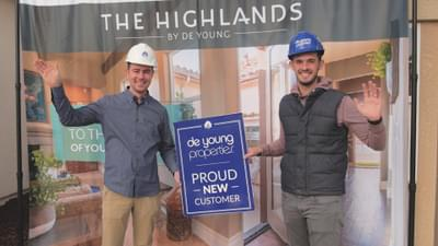 Tyler & Kevin, De Young Homeowners