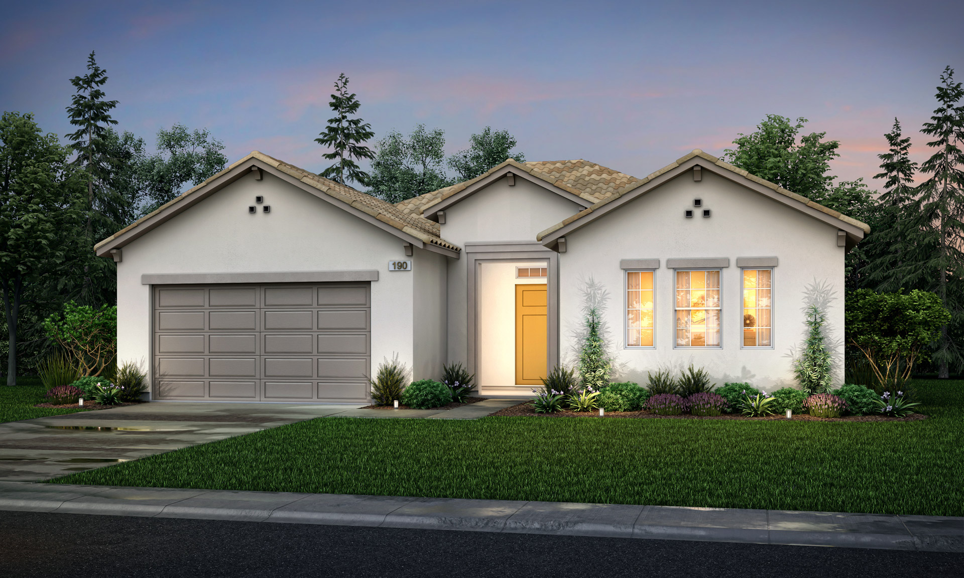 Meet The Brand New  Modern Spanish Exterior Elevation From DeYoung Properties!