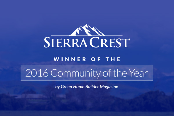 Smart Home Haven – DeYoung Sierra Crest Named Community of the Year!