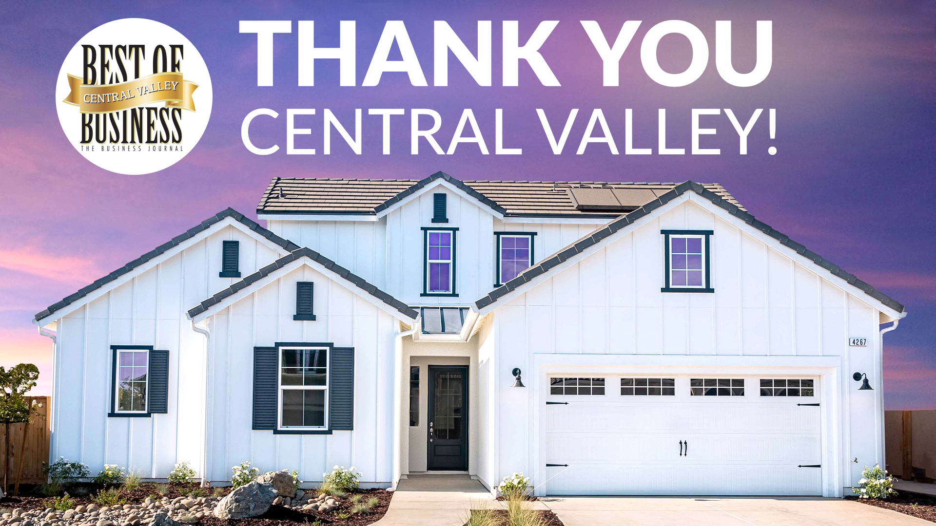 DeYoung Properties Once Again Honored with Best of Central Valley Business 2019 Award Recognition
