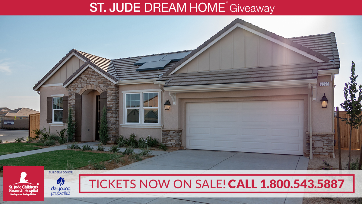 Tickets Now Available For The 2018 St. Jude Dream Home!