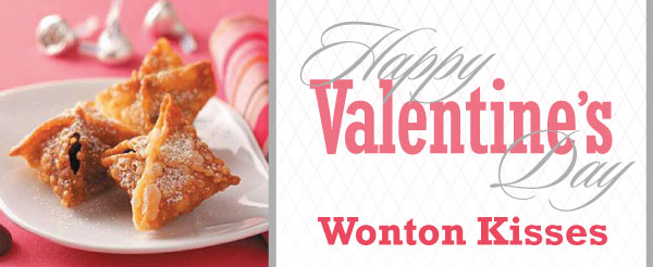 Valentine's Day Wonton Kisses Recipe From DeYoung!