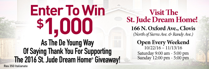 Time Is Running Out! Enter To Win $1,000 Courtesy of DeYoung Properties!