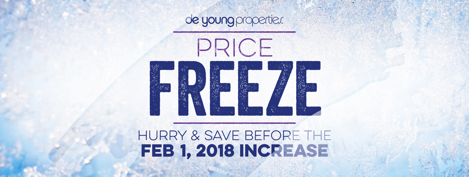 Price FREEZE – Hurry and Save Before the February 1 Price Increase!