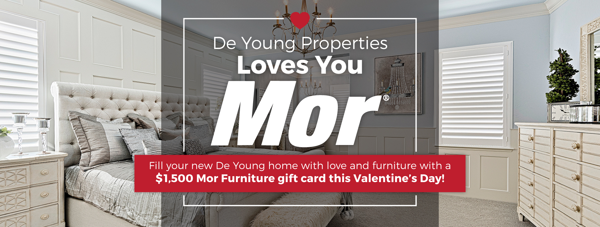 """DeYoung Loves You """"Mor"""" This Valentine's Day!"""