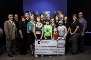 DeYoung Thanks Community For Raising Over $1 Million For St. Jude!