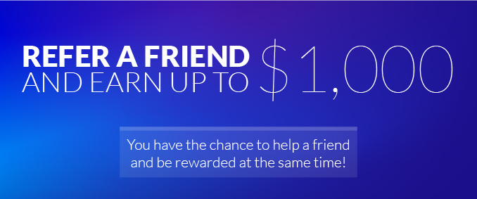 Celebrate National Friendship Day – Refer A Friend & Receive Up To $1,000!